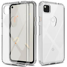 For Google Pixel 4a Case Crystal Clear Shockproof TPU Slim Hard Back Phone Cover
