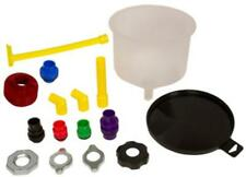 Lisle 24970 Spill Free Funnel Kit With Euro Adaptors