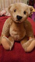 Steiff Original 14'' Genuine Mohair Teddy Bear 0155/38