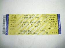The Little Dog Laughed Ticket ONLY 2006 Cort Theatre December Julie White