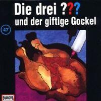 """DIE DREI ??? """"UND DER GIFTIGE GOCKEL (FOLGE 47)"""" CD HÖRBUCH NEUWARE"""