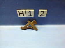 (H1.2)  playmobil équerre marron foncé maison western ref 3370 3423 3424 3787