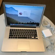 "Apple MacBook Pro A1286 15"" 2011 Quad Core i7 2.3Ghz 8Gb RAM Matte Res1680x1050"