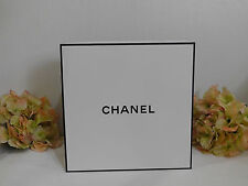 CHANEL Empty Gift Box + Tissue + Envelope + Card 10.75''W x 5''D