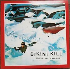 BIKINI KILL REJECT ALL AMERICAN BIKINI KILL RECORDS VINYLE NEUF NEW VINYL LP