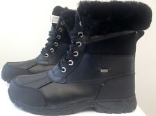 UGG Australia Mens Butte 5521 Waterproof Winter Snow Boots Black NWB Size 12