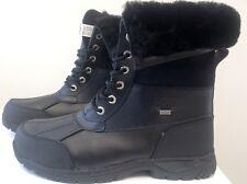 UGG Australia Mens Butte 5521 Waterproof Winter Snow Boots Black NWB Size 12