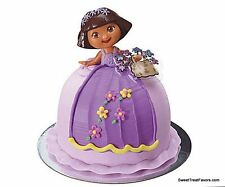 Dora the Explorer Party CAKE Topper Decoration Princess Girl Birthday Cupcake NW