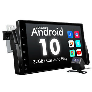 For BMW E46 318 320 325 In Dash Car Audio GPS Android 10 Radio Stereo DAB+CAM I