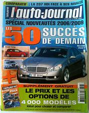 L'AUTO-JOURNAL du 04/2006; Spécial les 50 succés de demain/ Prix et option