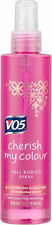 3 x VO5 Cherish My Colour Full Bodied Heat Protect Spray New reduced colour fade