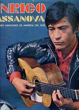 ENRICO CASSANOVA canta des canciones de america del sud HOLLAND EX LP 60'S LATIN