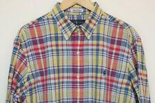 Ralph Lauren Mens Clasic Fit Cotton Light Check Shirt  XL/TG