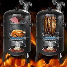 TecTake BBQ Carbonella Barbecue Affumicatore con Indicatore di calore-diversi modelli -