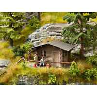 NOCH 14342 1/87 HO DECORS KIT CABANE FORESTIERE H0