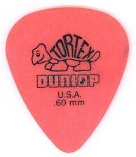 Dunlop Pick Tortex Standard 0.60 - Orange Packung mit 12 Stück
