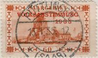 """SARRE / SAAR / SAARGEBIET - 1935 - """" PÜTTLINGEN / * (SAAR) * """" sur Mi.186"""