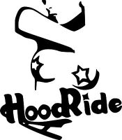 HOOD RIDE surf car graphic 4x4 JDM Van camper  EURO Vinyl Decal Sticker Skate