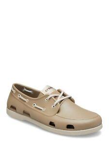 Crocs Classic Boat Shoe Khaki