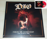 2 LP DIO - FINDING THE SACRED HEART - RED VINYL