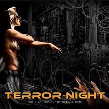 Terrore Night vol.2 suoni of the Dead future 2cd ltd.300 cygnosic Alien Vampires