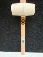 THOR WHITE RUBBER MALLET WOODEN HANDLE 64MM FACE       61 953W