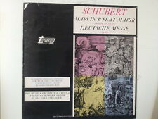 LP SCHUBERT mass in B flat major Deutsche Messe