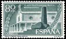 ESPAÑA 1956 1199 Monolito 1v.