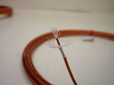 10 feet 20 AWG Shielded Silver Plated Kapton Wire Coax