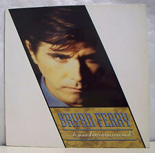 45T MAXI BRYAN FERRY Disque Vinyl IS YOUR LOVE STRONG ENOUGH - GEMA 883803-1