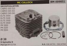 CILINDRO PISTONE COMPLETO DECESPUGLIATORE McCULLOCH ELITE 3000 3100 3500 3600
