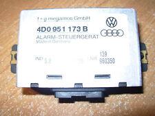 1996 1999 AUDI A4 A6 A8 ALARM CONTROL MODULE COMPUTER 4D0 951 173 B