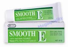 Smooth E Cream Vitamin E + Aloe Vera Reduce Scars 40 G.