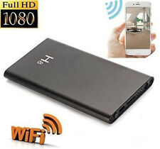 Power Bank Spy Hidden Camera Night Vision HD&1080P DVR WIFI Recorder 5000mAh DV
