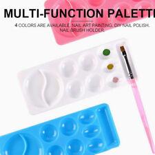 Nail Art Supplies Polish Color Mixing Palette Dish Drawing Painting Tool