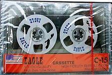 Eagle Reel To Reel C15 RARE Audio Cassette Vintage