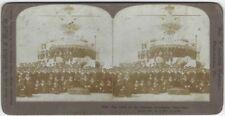 1905 Crew of Russian Battleship Retvizan Naval Maritime Stereoview