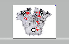 HOLDEN TIMING COVER GASKET KIT/SET COMMODORE VZ VE VF LEO LWR LY7 LW2 ALLOYTEC