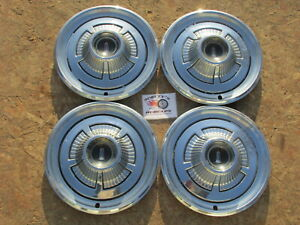 "1966 PLYMOUTH FURY I, II, III 14"" WHEEL COVERS, HUBCAPS, SET OF 4"