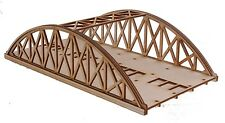 BR011 Twin Track Short Bowstring Rail Bridge OO Gauge Model Laser Cut Kit