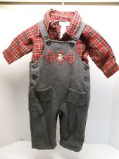 Infant Boys Christmas 2 Piece Outfit, The Childrens Place, size 3-6 months