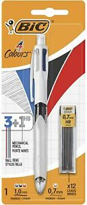 4 Colours Multifunctional Ballpoint Pen and HB Pencil Combo