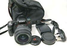 Sony Alpha SLTA33L 14.2MP Digital SLR Camera - Black (Kit w/ 18-55mm Lens)-Used