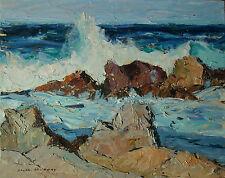 Ralph Victor Murray (Fredericton 1897-1991 Monterey, CA) Seascape