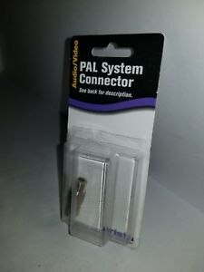 ARISTA PAL CONSOLE CONNECTOR F JACK to PAL SOCKET 75 Ohm  (NOT FOR USA) P5