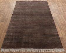 6x9 Striped Rug, Handmade Rug, Wool & Silk Rug, Free Shipping!!!....#2726
