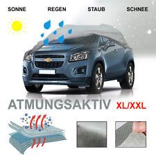 Pro-Tec Ganzgarage XL/XXL Atmungsaktiv Wetterfest UV-Beständig Abdeckung für PKW - Grau