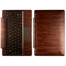 Skinomi Skin Dark Wood Cover for Asus EEE Transformer TF101 Keyboard Dock