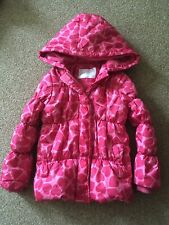 Mothercare Brand Girls Quilted Jacket 5-6 year old