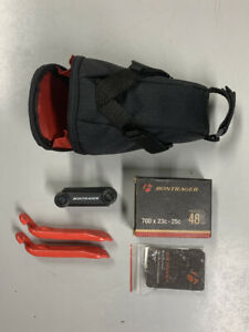 Bontrager Bike Bag Under Seat Cycling Pouch With Bike Repair Tool Kit US